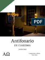 Antifonario de Cuaresma
