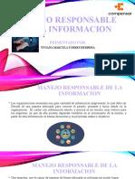 MANEJO RESPONSABLE DE LA INFORMACION