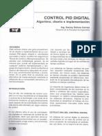 Control PID digital- Danny Ochoa