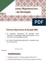 Aula 6 - Sindromes hipertensivas na gestação