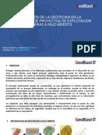 Aplicacion de la Geotecnia en la Optimizacion de Proyectos de explotacion a rajo abierto_271020_Manuel Rapiman