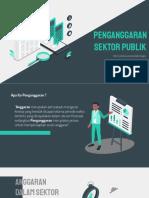 Kelompok 4 - Penganggaran Sektor Publik