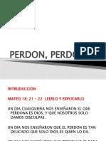 PERDON, PERDONAR