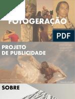 FOTOGERAÇÃO - PLANO DE PUBLICIDADE