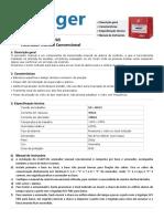 J-SAPF-5Ei Acionador Manual Convencional Rearmável