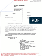 New York Attorney General's Lawsuit Against David Elmendorf