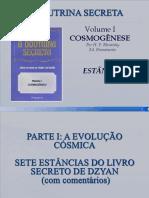 A Doutrina Secreta - Vol 1 - Cosmogenese - Estancia II