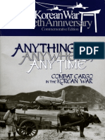 Anything, Anywhere Anytime Combat Cargo in Korea