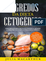 Segredos Da Dieta Cetogenica - Julia Macarthur