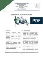 """""""IDENTIFICACIÓN DE MAGNITUDES FÍSICAS"""""""