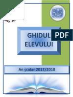 ghidul elevului 2017-2018