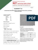 Colmonoy 5-S  Data Sheet