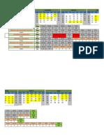 Calendário de Aulas - curso Mantenedor industrial