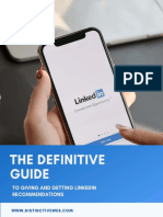 The Definitive Guide to Giving & Getting LinkedIn Recommendations