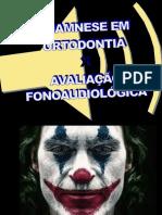 Avaliacao Em Ortodontia x Avaliaçao Fonoaudiológica