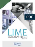 Listado Institucional de Medicamentos Esenciales LIME v1 (210 Paginas)