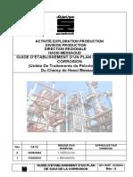 Guide Elaboration Plan de Suivi de Corrosion