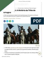 Tribo Dos Kayi_ a História Da Tribo de Ertugrul