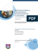 Protocolo Para La Prevencion de Intoxicacion Por Plaguicidas