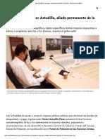 02-03-2021 Gobierno de Héctor Astudillo, aliado permanente de la juventud - El Heraldo de México