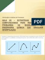 Aula 05 - Interpolação