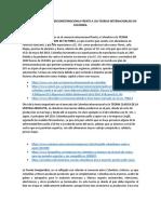 IMPORTANCIA DEL COMERCIOINTERNACIONLA FREeNTE A LAS TEORIAS INTERNACIONLAES EN COLOMBIA