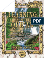 Learning From the Quran Harun Yahya