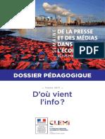 Dossier Pedagogique - La Presse