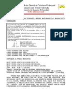 CADENAS CON LA MADRE ESPACIO, MADRE NATURALEZA Y MADRE DIVINA