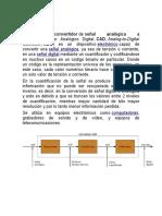 Conversor Analogico - Digital