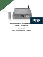 Burson Composer 3X Performance User Manual V1.3
