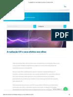A radiação UV e seus efeitos nos olhos _ Dr. Marcelo Vilar