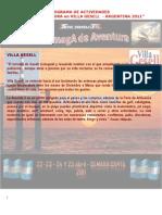 Plan de Actividades Salamaga Aventura
