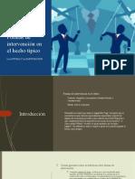 Formas de Intervencion en El Hecho Tipico (1)