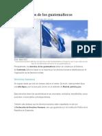 LOS DERECHOS DE LOS GUATEMALTECOS