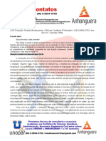 ACE Produção Textual Interdisciplinar. Ciências Contábeis 8º Semestre - (66) 9.9694–5762. Ano 2021-01. Conceito 100%.