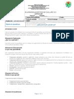 Silueta Textual - Diseño Guía de aprendizaje - CER BERTRANIA - LENGUAJE
