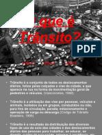 1- Introdução ao trânsito