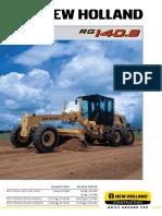 Ficha Tecnica New Holland RG140