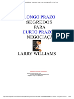 Larry Williams - Segredos de Longo Prazo Para Negociação de Curto Prazo
