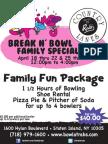 Rab's Spring Break n Bowl Family Special