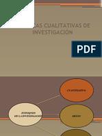 Uso de la investigación cualitativa y cuantitativa