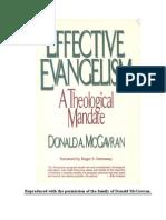 McGavraneffective evangelism