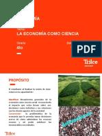 EC - 4to año - La economía como ciencia(semana 1) - - PPT(sin audio) (1)