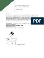 Informe de laboratorio optoelectronica