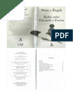 Textos Sobre Educação - Marx e Engels