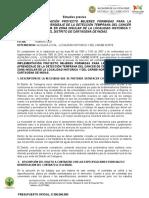 Estudio Previo -Promoción y El Aprendizaje de La Detección Temprana Del Cáncer de Cérvix