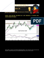 Gold and Silver Technicals and Trendz 2nd March 2011 From Chiefs World