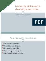 ADM.DE SISTEMAS vs. ADMINIST.DE SERVICIOS