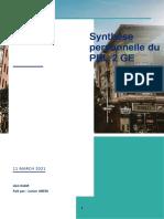 ABEDI - GE synthèse PBL 2